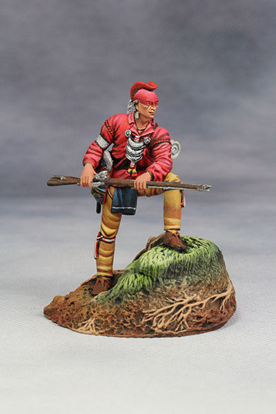 YZ54061 - Woodland Indian with musket. (18th Century) by YZCaesar - Piers Christian Toy Soldiers - 1