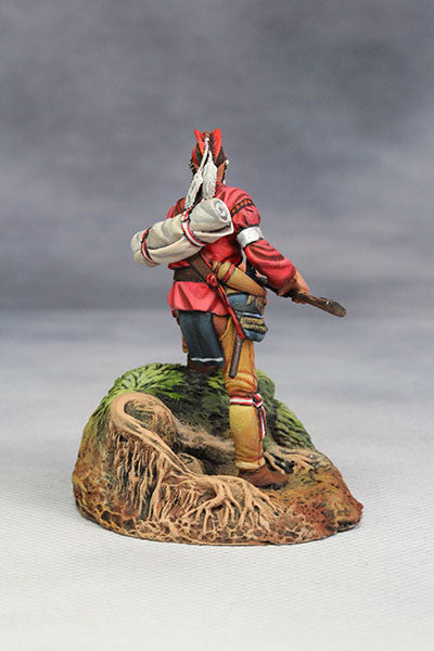 YZ54061 - Woodland Indian with musket. (18th Century) by YZCaesar - Piers Christian Toy Soldiers - 4