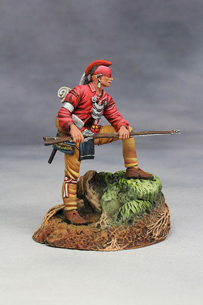 YZ54061 - Woodland Indian with musket. (18th Century) by YZCaesar - Piers Christian Toy Soldiers - 5