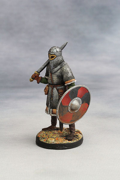 YZ54065 - Viking Warrior II, in heavy armour (10th Century A.D.) from YZCaesar - Piers Christian Toy Soldiers - 2