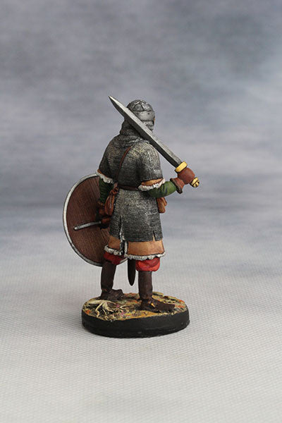 YZ54065 - Viking Warrior II, in heavy armour (10th Century A.D.) from YZCaesar - Piers Christian Toy Soldiers - 3
