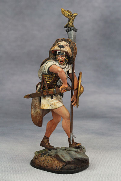 YZ75002 - Roman Aquilifer (1st Century A.D.) from YZCaesar - Piers Christian Toy Soldiers - 1