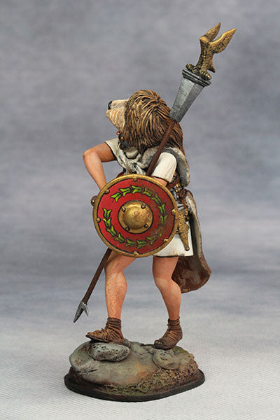 YZ75002 - Roman Aquilifer (1st Century A.D.) from YZCaesar - Piers Christian Toy Soldiers - 3