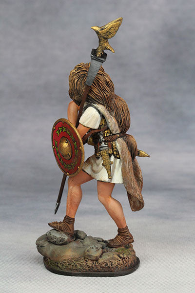 YZ75002 - Roman Aquilifer (1st Century A.D.) from YZCaesar - Piers Christian Toy Soldiers - 4