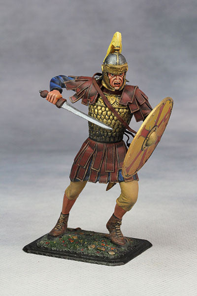 YZ75011- Roman Cavalry Officer (3rd Century A.D.), 75mm scale made by YZCaesar - Piers Christian Toy Soldiers - 1