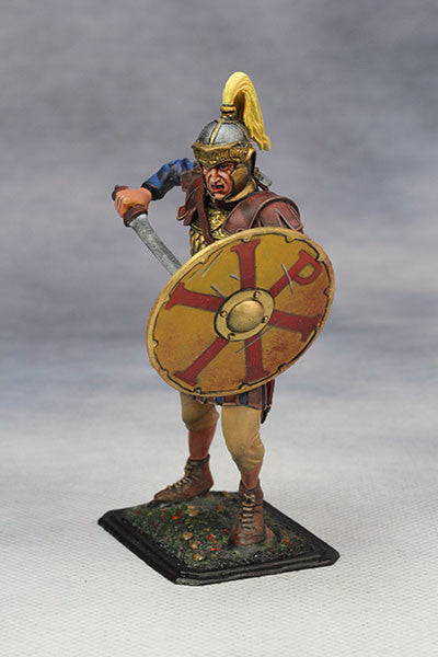 YZ75011- Roman Cavalry Officer (3rd Century A.D.), 75mm scale made by YZCaesar - Piers Christian Toy Soldiers - 2
