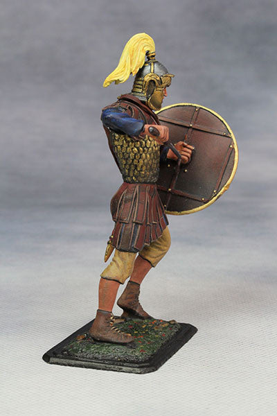 YZ75011- Roman Cavalry Officer (3rd Century A.D.), 75mm scale made by YZCaesar - Piers Christian Toy Soldiers - 4