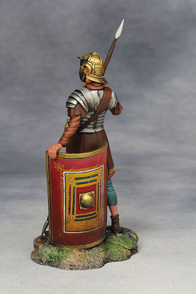 YZ75012 - Roman Legionary (2nd Century A.D.) from YZCaesar - Piers Christian Toy Soldiers - 3