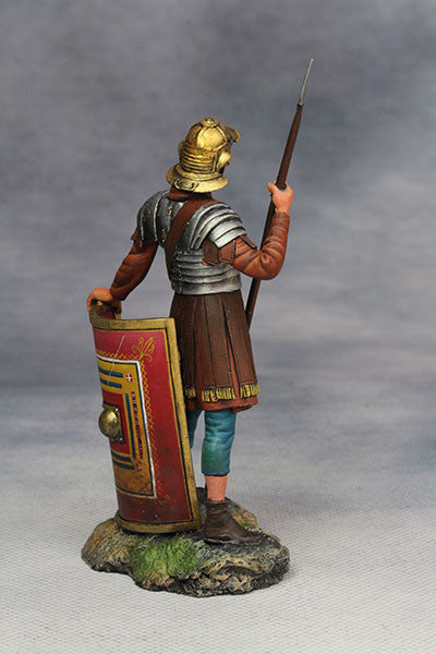 YZ75012 - Roman Legionary (2nd Century A.D.) from YZCaesar - Piers Christian Toy Soldiers - 4