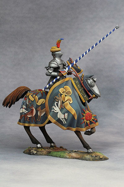 YZ75013 - Hans zu Sachsen at Tournament (Circa 1500) from YZCaesar - Piers Christian Toy Soldiers - 1