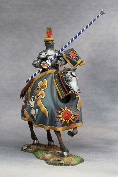 YZ75013 - Hans zu Sachsen at Tournament (Circa 1500) from YZCaesar - Piers Christian Toy Soldiers - 2