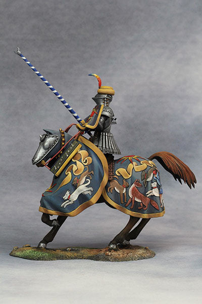 YZ75013 - Hans zu Sachsen at Tournament (Circa 1500) from YZCaesar - Piers Christian Toy Soldiers - 4