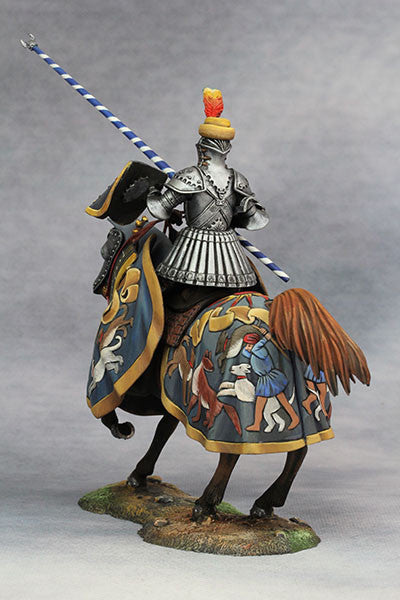 YZ75013 - Hans zu Sachsen at Tournament (Circa 1500) from YZCaesar - Piers Christian Toy Soldiers - 5