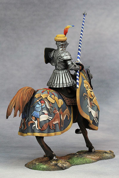 YZ75013 - Hans zu Sachsen at Tournament (Circa 1500) from YZCaesar - Piers Christian Toy Soldiers - 6