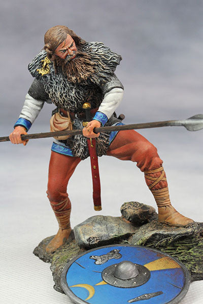 YZ75014 - Frankish warrior (5th Century) from YZCaesar - Piers Christian Toy Soldiers - 2
