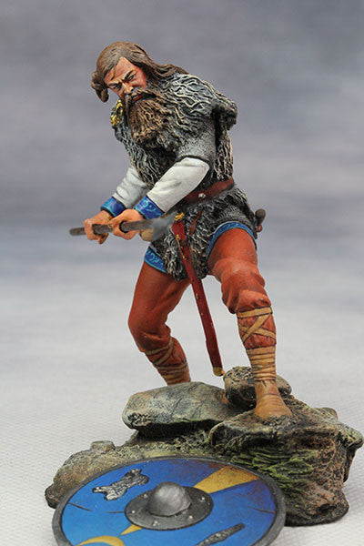YZ75014 - Frankish warrior (5th Century) from YZCaesar - Piers Christian Toy Soldiers - 1