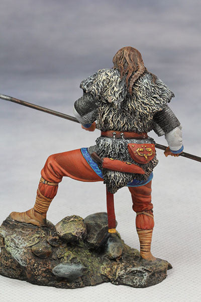 YZ75014 - Frankish warrior (5th Century) from YZCaesar - Piers Christian Toy Soldiers - 3