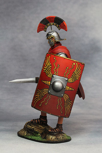 YZ90001- Roman Legionary Optio (1st Century A.D.), 90mm scale made by YZCaesar - Piers Christian Toy Soldiers - 2