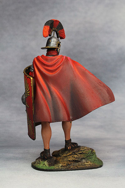 YZ90001- Roman Legionary Optio (1st Century A.D.), 90mm scale made by YZCaesar - Piers Christian Toy Soldiers - 3