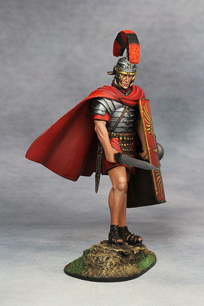 YZ90001- Roman Legionary Optio (1st Century A.D.), 90mm scale made by YZCaesar - Piers Christian Toy Soldiers - 4