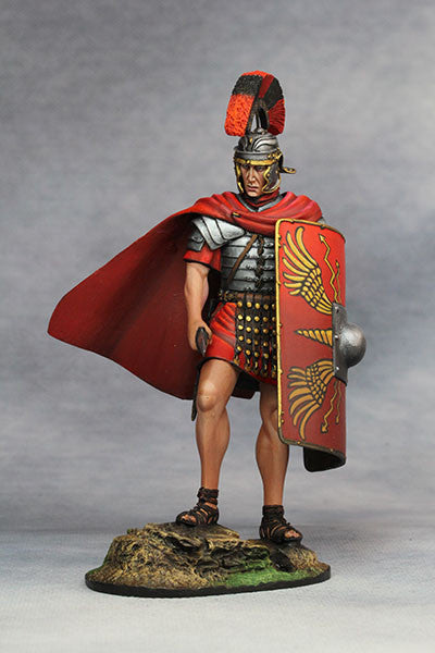 YZ90001- Roman Legionary Optio (1st Century A.D.), 90mm scale made by YZCaesar - Piers Christian Toy Soldiers - 1