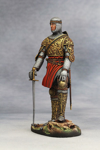 YZ90002 - Central Italian Horseman (14th Century A.D.) from YZCaesar - Piers Christian Toy Soldiers - 2