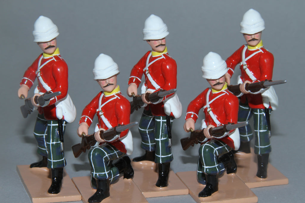 SC92B - 2nd Battalion Highland Light Infantry for Sudan Campaign from Regal Toy Soldiers