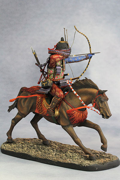 YZ90005 - Samurai with Strong Bow (13th Century A.D.) made by YZCaesar - Piers Christian Toy Soldiers - 5