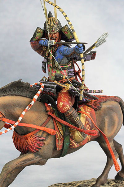 YZ90005 - Samurai with Strong Bow (13th Century A.D.) made by YZCaesar - Piers Christian Toy Soldiers - 1