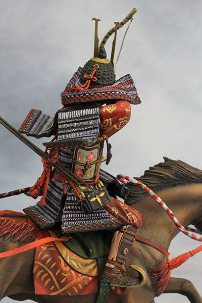 YZ90005 - Samurai with Strong Bow (13th Century A.D.) made by YZCaesar - Piers Christian Toy Soldiers - 7