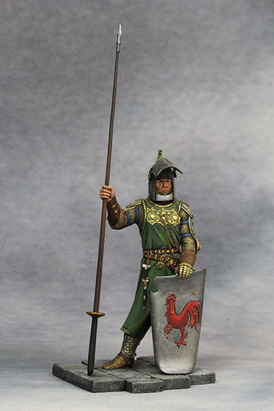 YZ90006 -  Medieval Knight (14th Century A.D.) made by YZCaesar. - Piers Christian Toy Soldiers - 2