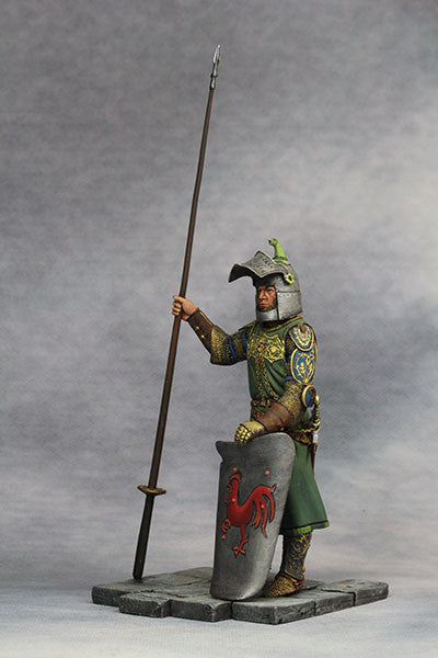 YZ90006 -  Medieval Knight (14th Century A.D.) made by YZCaesar. - Piers Christian Toy Soldiers - 3
