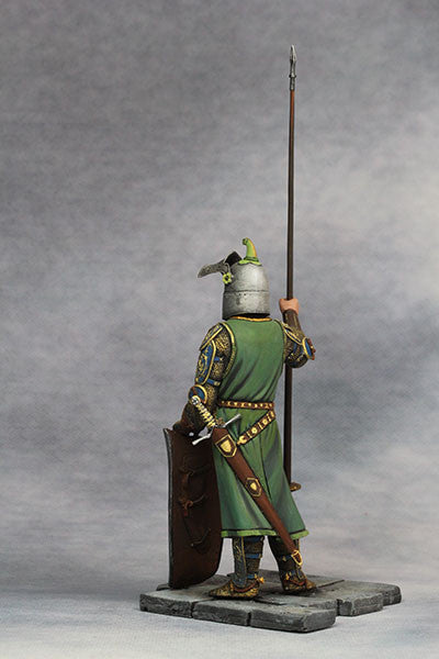 YZ90006 -  Medieval Knight (14th Century A.D.) made by YZCaesar. - Piers Christian Toy Soldiers - 4