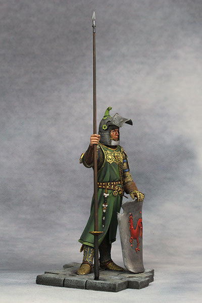 YZ90006 -  Medieval Knight (14th Century A.D.) made by YZCaesar. - Piers Christian Toy Soldiers - 5