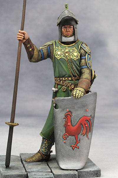 YZ90006 -  Medieval Knight (14th Century A.D.) made by YZCaesar. - Piers Christian Toy Soldiers - 1