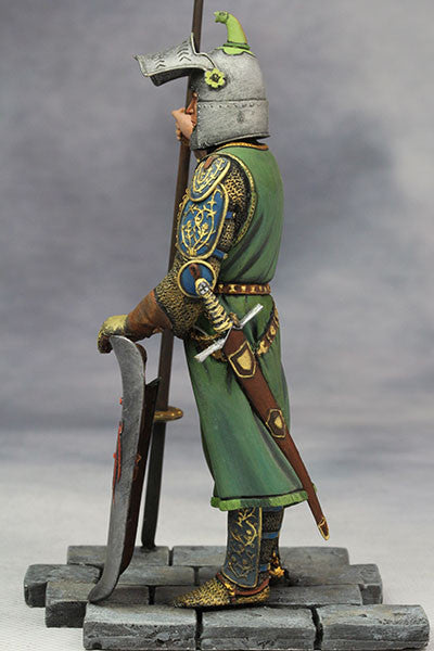 YZ90006 -  Medieval Knight (14th Century A.D.) made by YZCaesar. - Piers Christian Toy Soldiers - 7