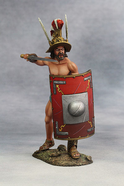 YZ90007 - Roman Gladiator, Samnite (2nd Century A.D.) from YZCaesar - Piers Christian Toy Soldiers - 1