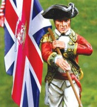 CS00835 = AWI British Standard Bearer - Piers Christian Toy Soldiers
