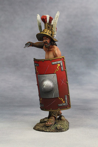 YZ90007 - Roman Gladiator, Samnite (2nd Century A.D.) from YZCaesar - Piers Christian Toy Soldiers - 2