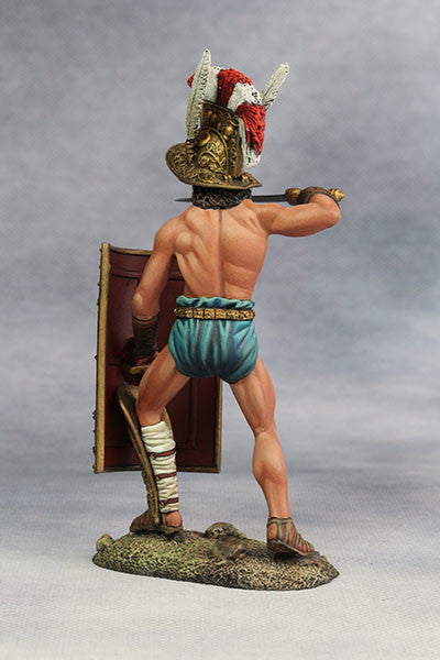 YZ90007 - Roman Gladiator, Samnite (2nd Century A.D.) from YZCaesar - Piers Christian Toy Soldiers - 4