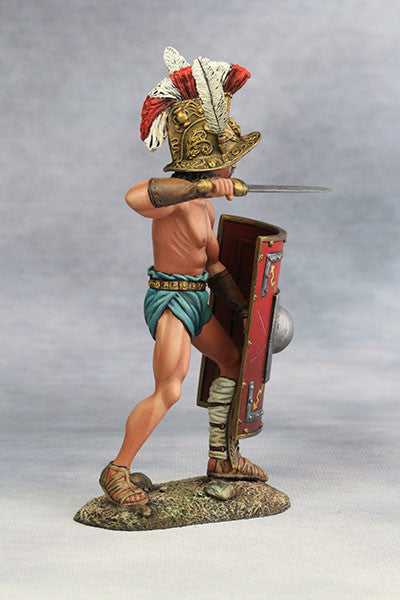 YZ90007 - Roman Gladiator, Samnite (2nd Century A.D.) from YZCaesar - Piers Christian Toy Soldiers - 5