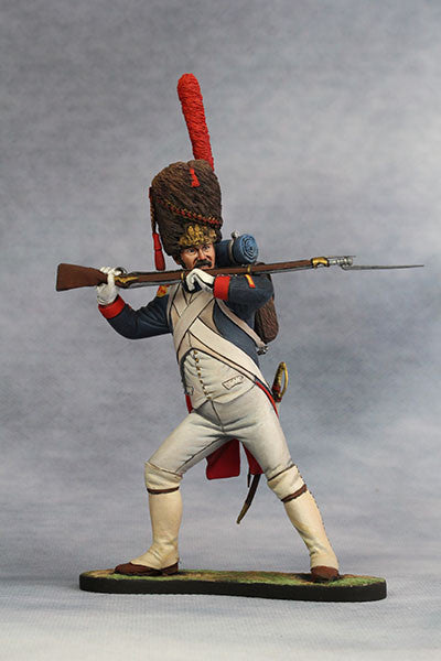 YZ90008 - Sergeant of Grenadier (1812) Napoleonic Wars. Made by YZCaesar - Piers Christian Toy Soldiers - 1