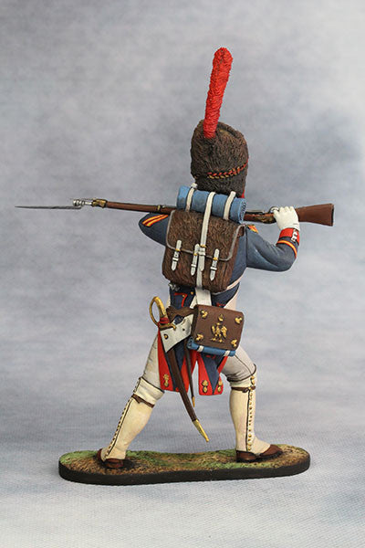 YZ90008 - Sergeant of Grenadier (1812) Napoleonic Wars. Made by YZCaesar - Piers Christian Toy Soldiers - 2