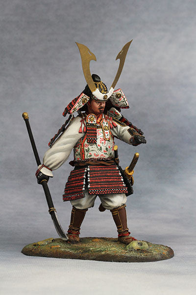 YZ90012 - Samurai Commander (Nanbokucho Period/14th Century A.D.) 90mm model Made by YZCaesar - Piers Christian Toy Soldiers - 1