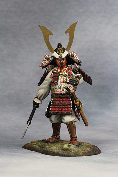 YZ90012 - Samurai Commander (Nanbokucho Period/14th Century A.D.) 90mm model Made by YZCaesar - Piers Christian Toy Soldiers - 2