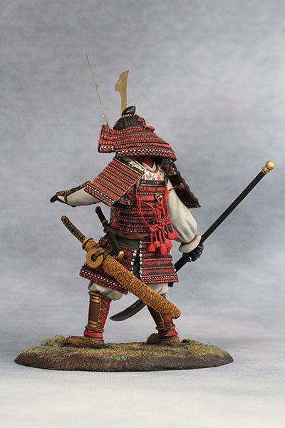 YZ90012 - Samurai Commander (Nanbokucho Period/14th Century A.D.) 90mm model Made by YZCaesar - Piers Christian Toy Soldiers - 3