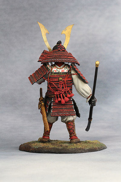 YZ90012 - Samurai Commander (Nanbokucho Period/14th Century A.D.) 90mm model Made by YZCaesar - Piers Christian Toy Soldiers - 4