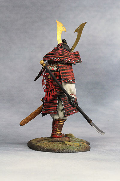 YZ90012 - Samurai Commander (Nanbokucho Period/14th Century A.D.) 90mm model Made by YZCaesar - Piers Christian Toy Soldiers - 5