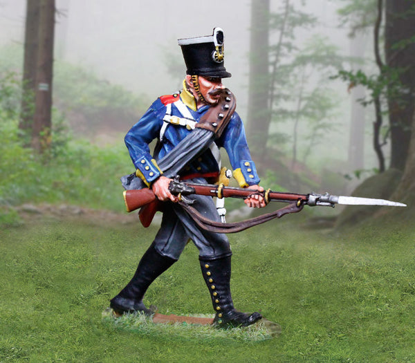CS00898 - Prussian Infantry Soldier Advancing, Prussian and British Napoleonic - Piers Christian Toy Soldiers
