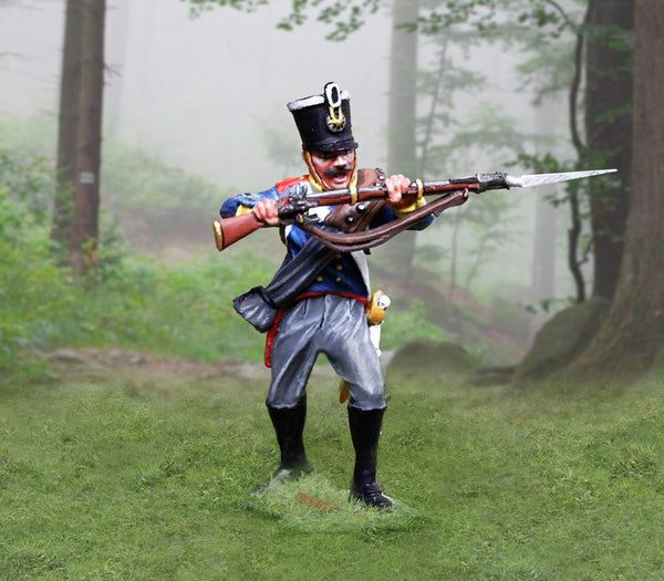CS00900 - Prussian Infantry Soldier 'Parrying', Prussian and British Napoleonic - Piers Christian Toy Soldiers